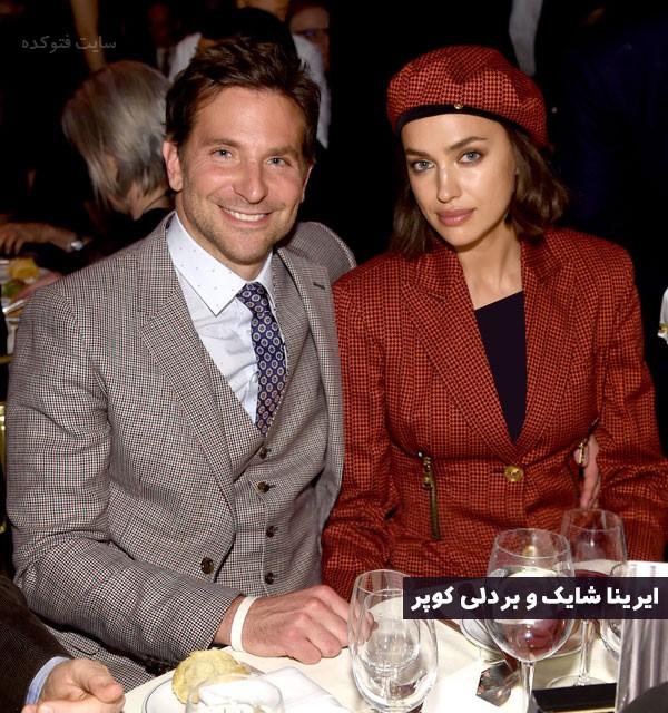 عکس همسر ایرینا شایک (بردلی کوپر) + علت طلاق