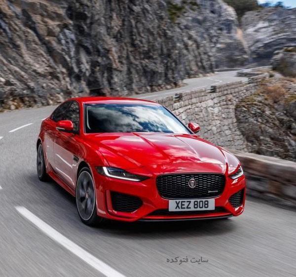 ماشین jaguar xe 2020