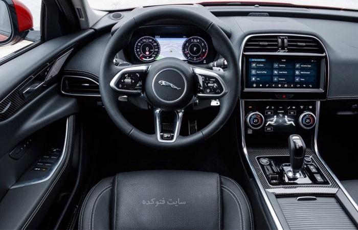 عکس داخل خودروی جگوار xe 2020