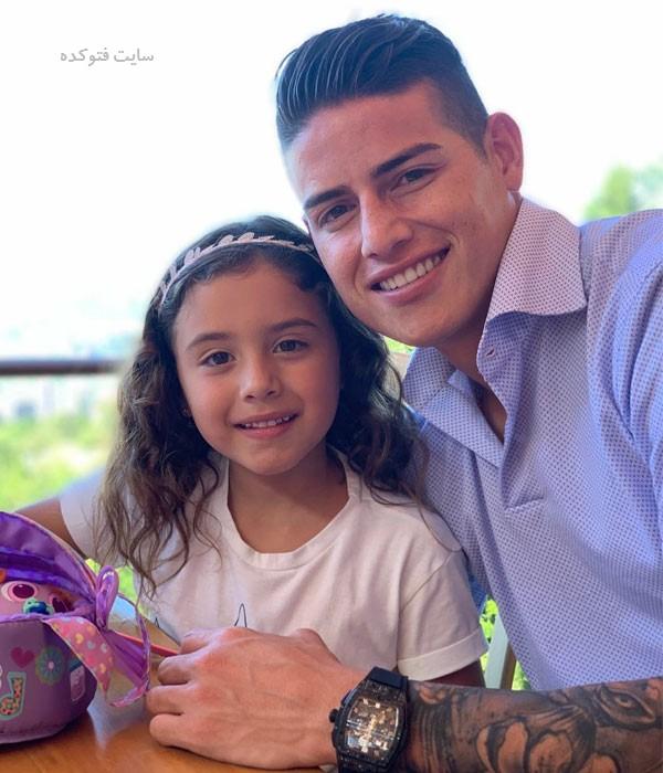 عکس های خامس رودریگز و دخترش + بیوگرافی