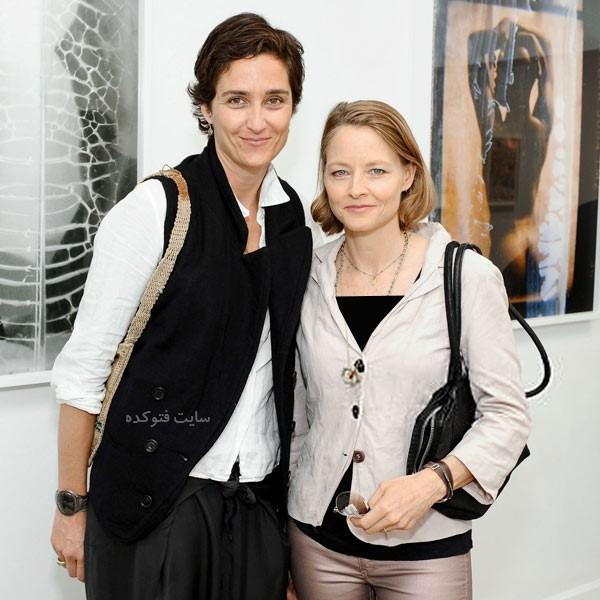 جودی فاستر و همسرش الکساندرا هدیسون همجنسنگرا