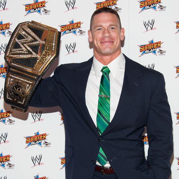 John Cena کشتی گیر و بازیگر مشهور آمریکایی