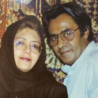 خسرو شکیبایی و همسرش + زندگی و ازدواج دوم