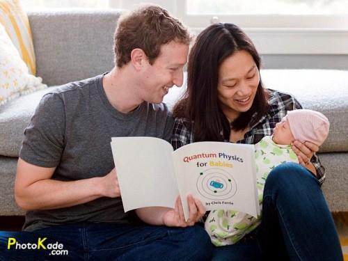 ماکسیما دختر کوچولوی مالک فیسبوک,دختر کوچولوی مالک فیسبوک در حال یادگیری فیزیک کوانتوم و شنا,عکس و بیوگرافی مارک زاکربرگ و همسرش,عکس خانوادگی مارک زاکربرگ  مالک فیس بوک