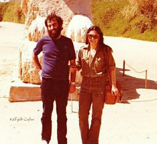 عکس مسعود کیمیایی و همسرش گیتی پاشایی + علت طلاق