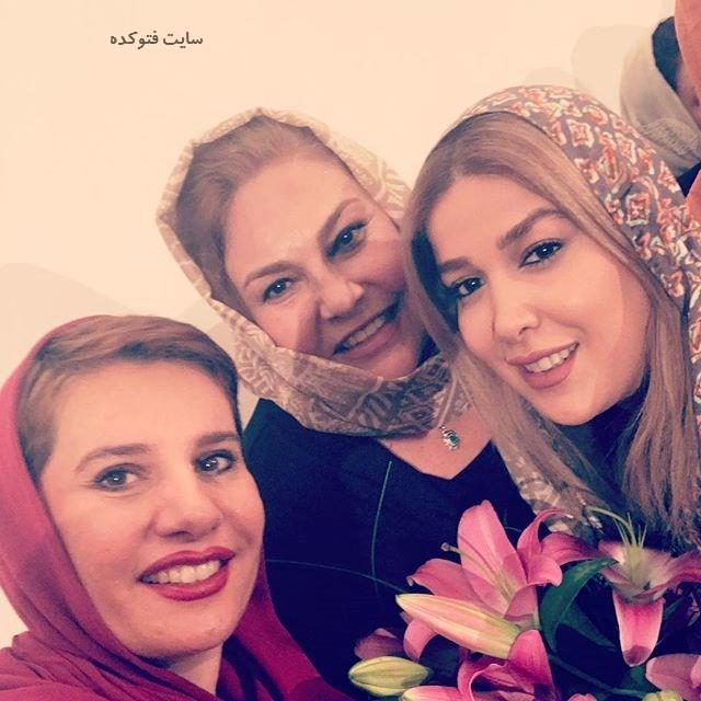 عکس مهرانه مهین ترابی و دوستانش + زندگینامه کامل
