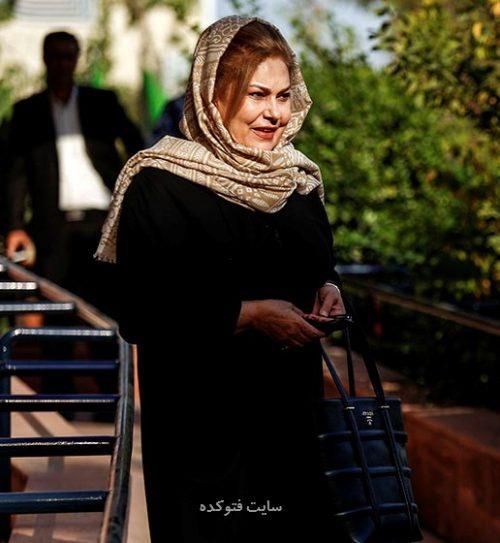 عکس مهرانه مهین ترابی بازیگر زن 60 ساله