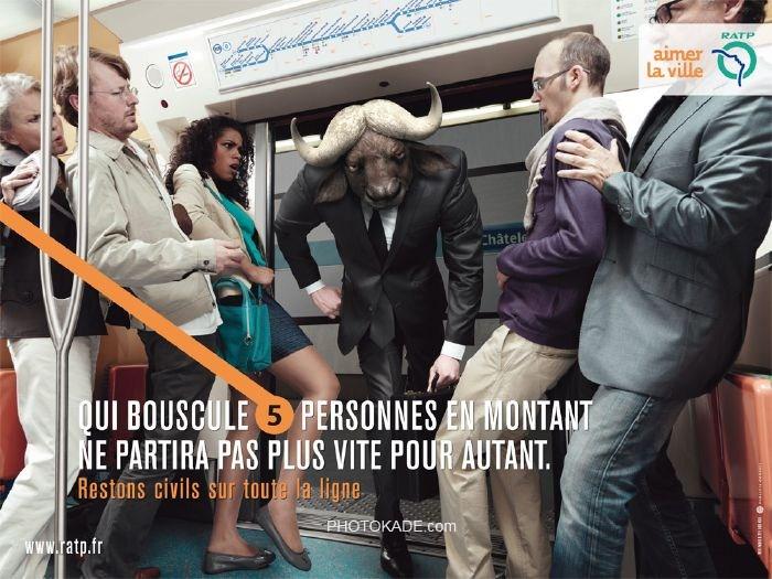 پوستر های جالب فرهنگ سازی در مترو,فرهنگ استفاده از مترو,بنر های جالب فرهنگ استفاده از مترو,عکس های جالب از فرهنگ سازی در مترو فرانسه,عکس کاریکاتوری فرهنکی