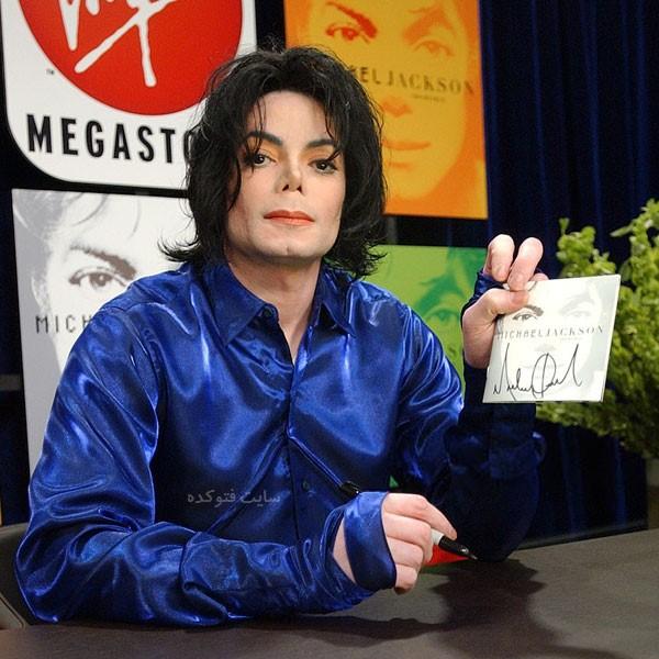 عکس های مایکل جکسون با زندگینامه شخصی هنری