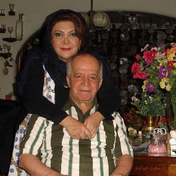 بیوگرافی مهوش وقاری و همسرش محسن قاضی مرادی