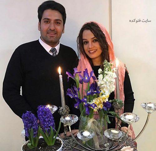 عکسمونا برزویی و همسرش علیرضا + بیوگرافی کامل