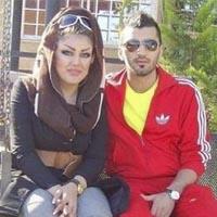 محسن مسلمان و همسرش عکس های جنجالی