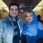 جدیدترین عکس نیوشا ضیغمی و همسرش