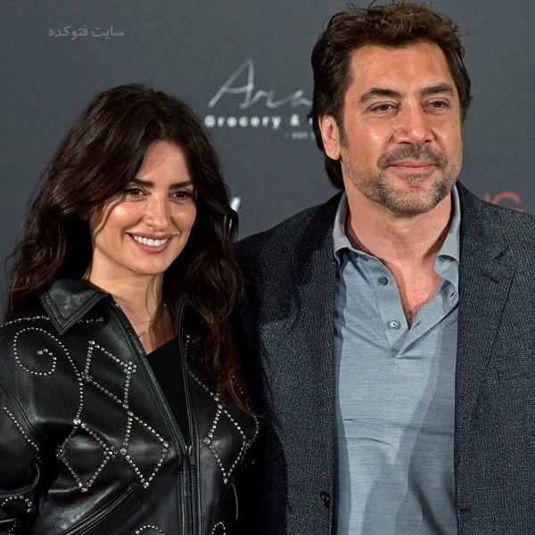 پنه لوپه کروز و همسرش خاویر باردم + بیوگرافی کامل