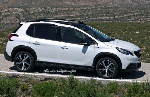 عکس پژو 2008 ایران خودرو مشخصان فنی + قیمت