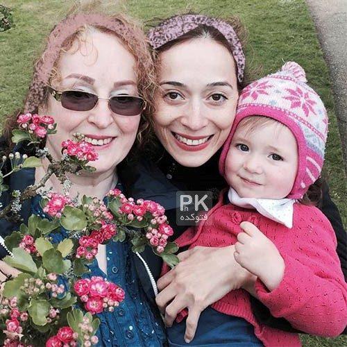 عکس خانوادگی پونه حاجی محمدی
