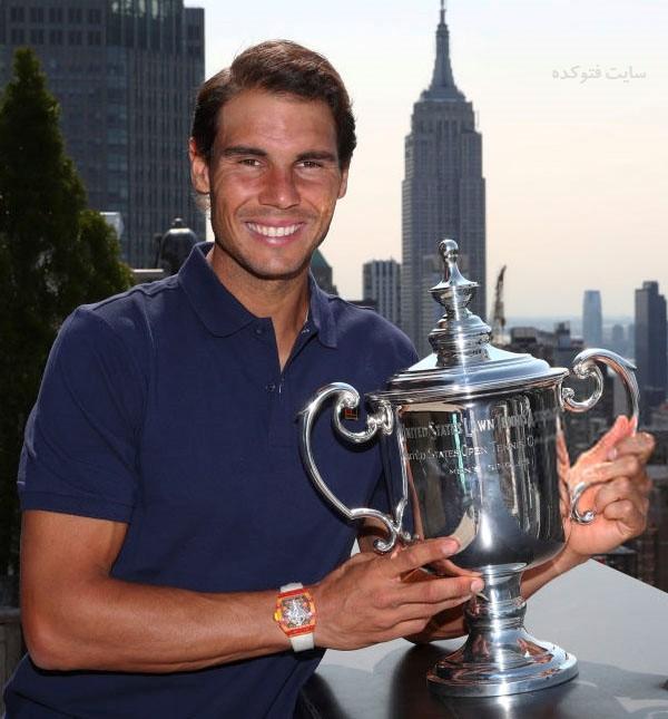 عکس های رافائل نادال قهرمان تنیس + زندگی شخصی