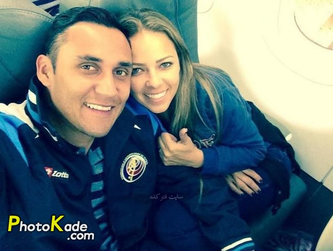 عکس کیلور ناواس و همسرش آندربا سالاس