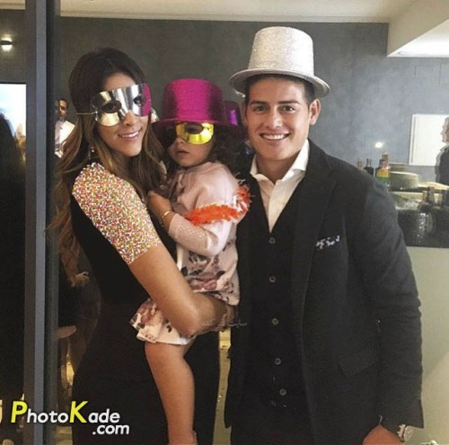 عکس خامس رودریگز و همسرش دانیلا اوسپینا