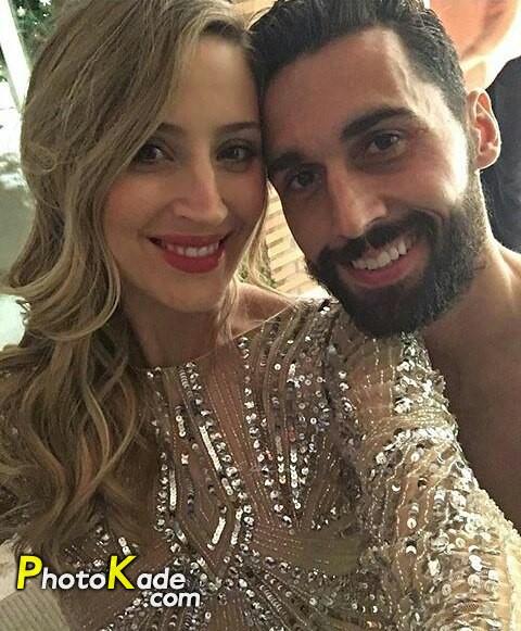 عکس آلوارو آربه لوآ و همسرش کارلوتا روئیز