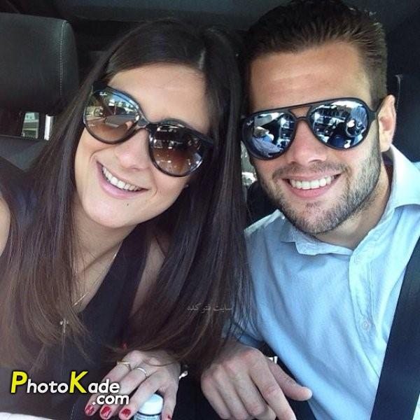 عکس ناچو و همسرش ماریا کورتز