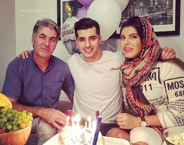 عکس خواهر و پدرسعید عزت اللهی + بیوگرافی