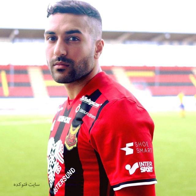 عکس سامان قدوس بازیکن جدید تیم ملی فوتبال + زندگی شخصی و بیوگرافی