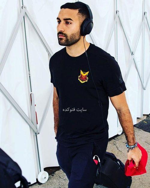 عکس سامان قدوس بازیکن فوتبال تیم ملی + بیوگرافی