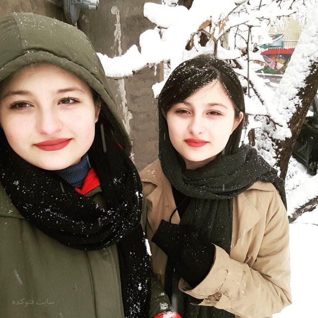 بیوگرافی سارا و نیکا فرقانی اصل دوقلوهای سریال پایتخت