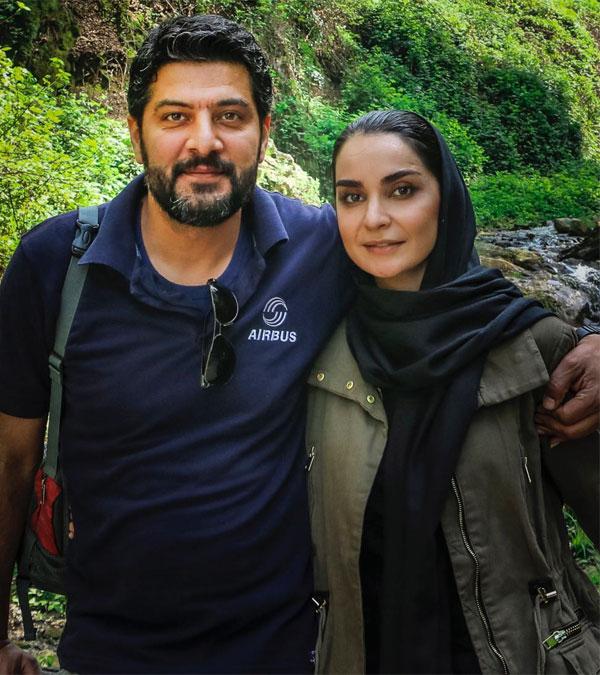 مهدیه نساج و همسرش سامرند معروفی در دکتر ماهان
