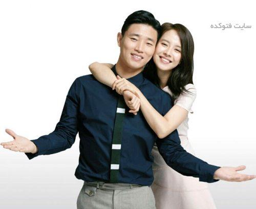 سونگ جی هیو و همسرش گری
