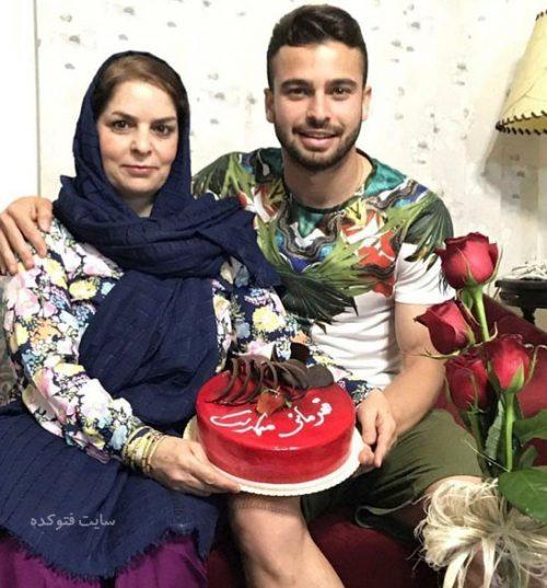 عکس سروش رفیعی و مادرش + زندگینامه کامل