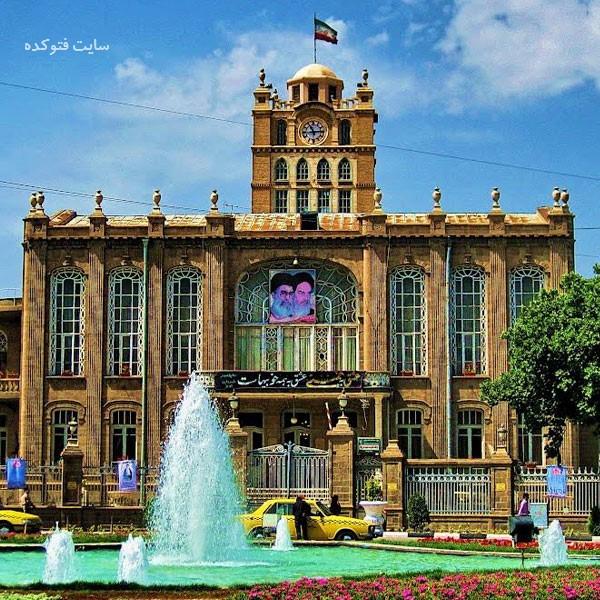 عمارت شهرداری از دیدنی های تبریز