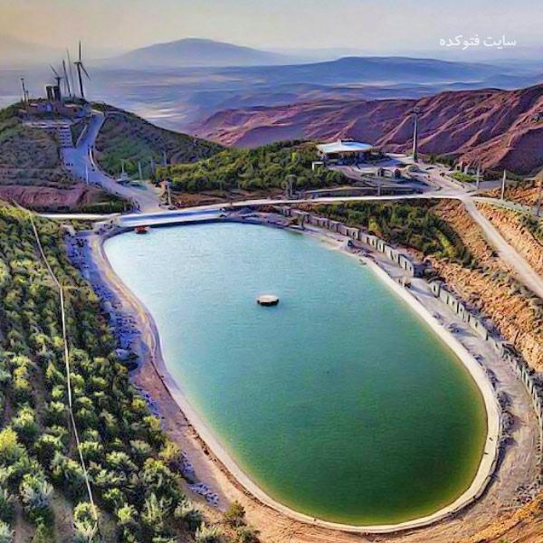 تفرجگاه عون بن علی (تله کابین) از جاذبه های گردشگری تبریز