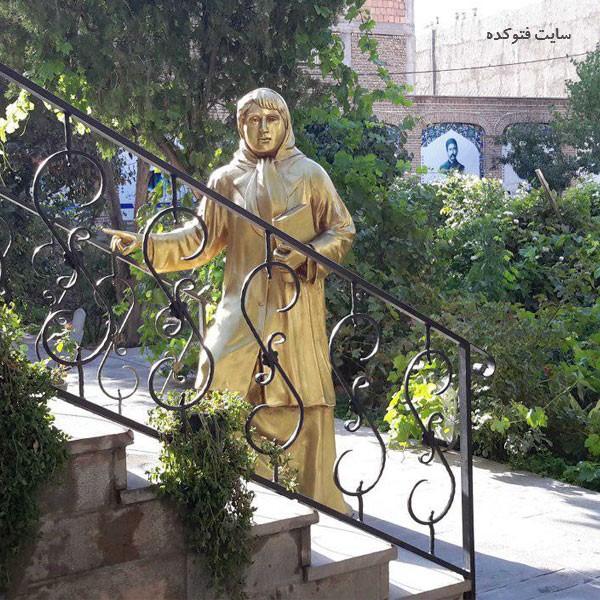 خانه پروین اعتصامی از جاذبه های گردشگری تبریز