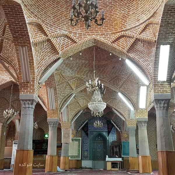مسجد مقبره از مکان های دیدنی تبریز