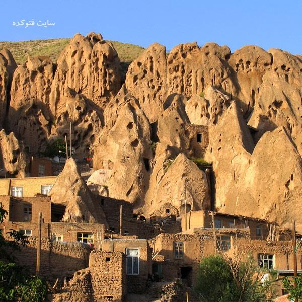روستای تاریخی کندوان از اماکن گردشگری تبریز