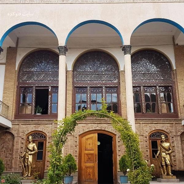 خانه مشروطه تبریز از جاهای دیدنی تبریز