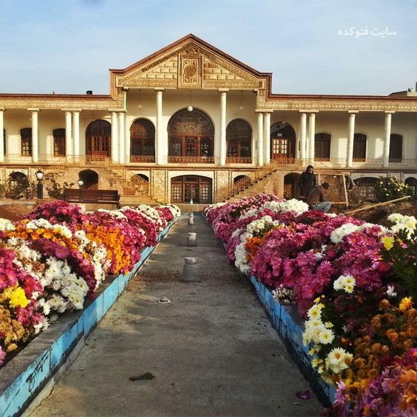 موزه قاجار از جاهای دیدنی تبریز