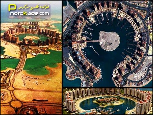 عکس جزیره مروارید دوحه قطر 2015,عکسهای جدید جزایر مروارید قطر,جزیره مروارید 2015,تصاویر جدید جزیره مروارید,عکس The Pearl-Qatar,عکس جزیزه مصنوعی مروارید دوحه