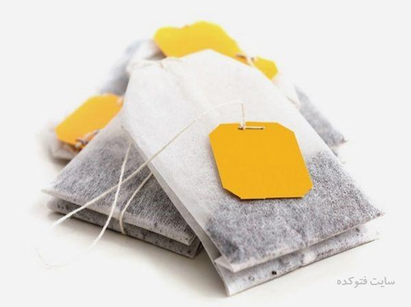 درمان خانگی تورم لب با چای کیسه ای