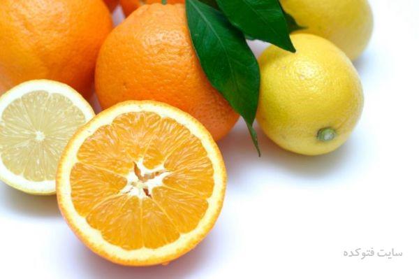 درمان تورم بی دلیل لب با پرتقال و لیمو شیرین