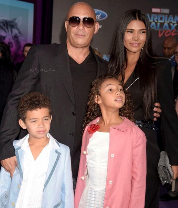 همسر وین دیزل + عکس خانوادگی و فرزندان