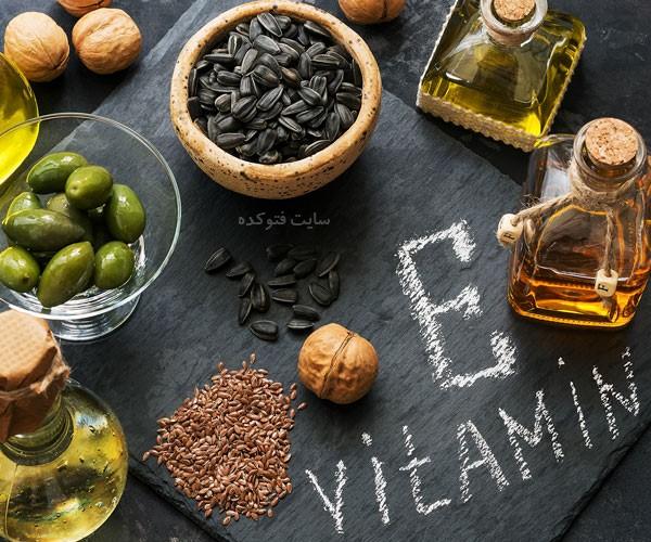 خواص قرص ویتامین e برای چشم ناخن و کلسترول و زنان و مردان