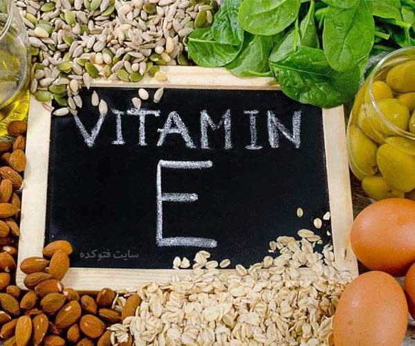 خواص ویتامین e برای پوست و مو سلامتی