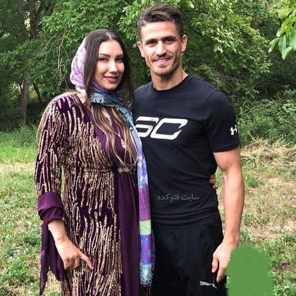 همسر وریا غفوری مونا اردلان + زندگی شخصی