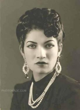 جدیدترین عکس اشرف پهلوی