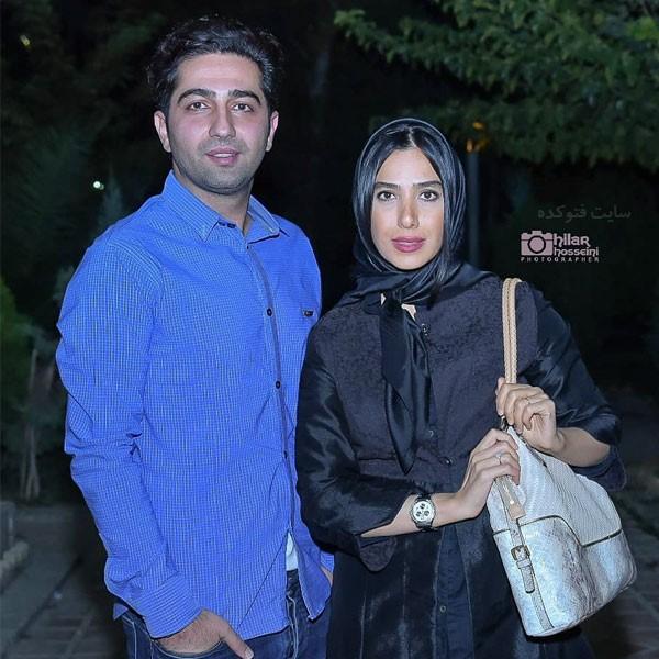 عکس و بیوگرافی سارا نجفی و همسرش علی