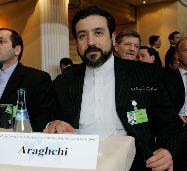 عکس قدیمی Abbas Araghchi
