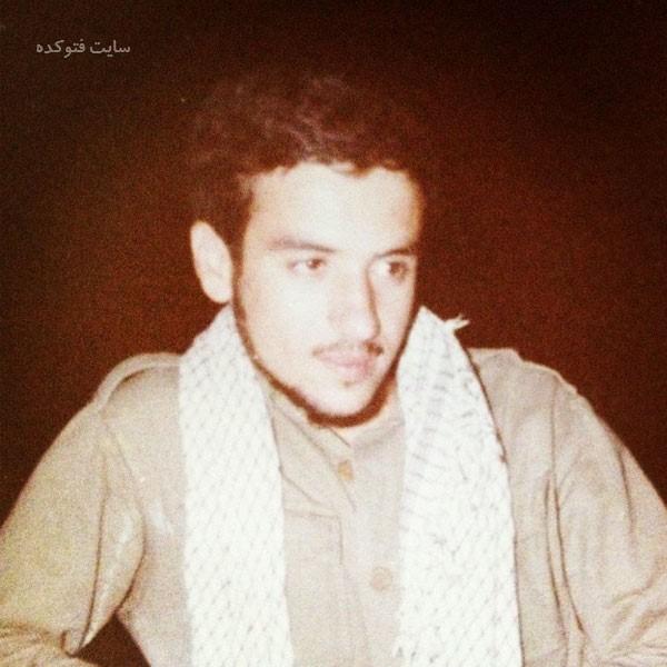 سید عباس عراقچی در لباس سپاه در جنگ